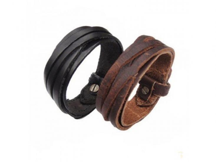 Фото - Антический кожаный браслет Ким купить в киеве на подарок, цена, отзывы