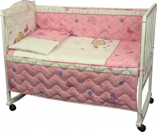Фото - Набор постельного белья в детскую кроватку купить в киеве на подарок, цена, отзывы