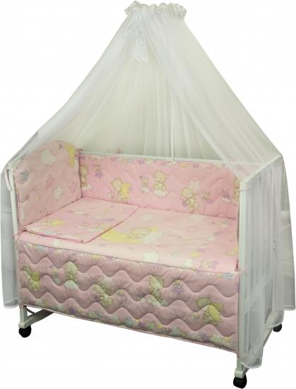 Фото - Комплект в детскую кроватку Веселка купить в киеве на подарок, цена, отзывы
