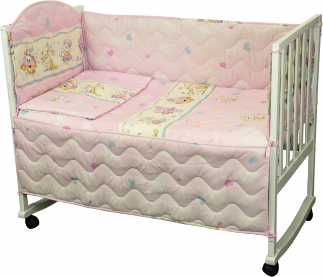 Фото - Комплект в детскую кровать Принцесса купить в киеве на подарок, цена, отзывы