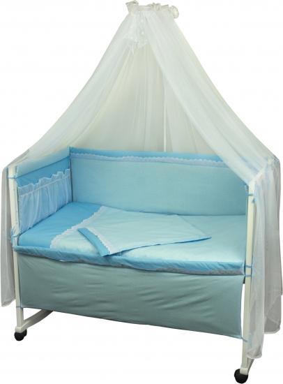Фото - Набор детский в кровать Карапуз с кружевом купить в киеве на подарок, цена, отзывы