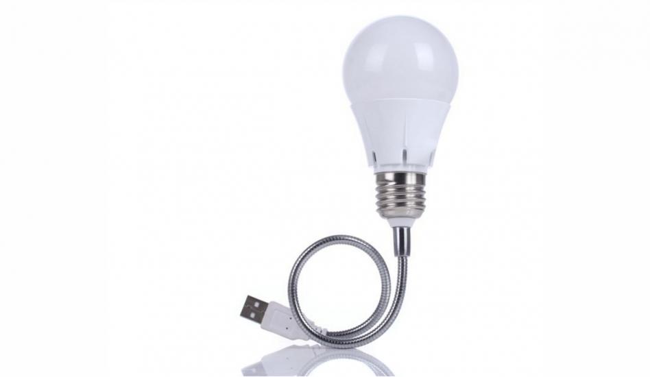 Фото - USB светильник Лампочка купить в киеве на подарок, цена, отзывы