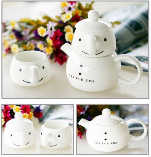 Фото - Чайный набор для двоих Снеговик купить в киеве на подарок, цена, отзывы