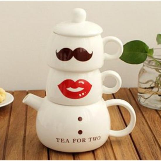 Фото - Кофейный набор для двоих Мистер и миссис купить в киеве на подарок, цена, отзывы