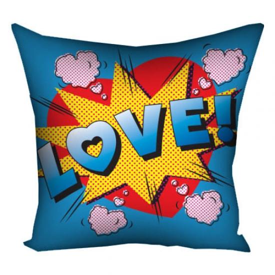 Фото - Подушка Love 30х30 см купить в киеве на подарок, цена, отзывы