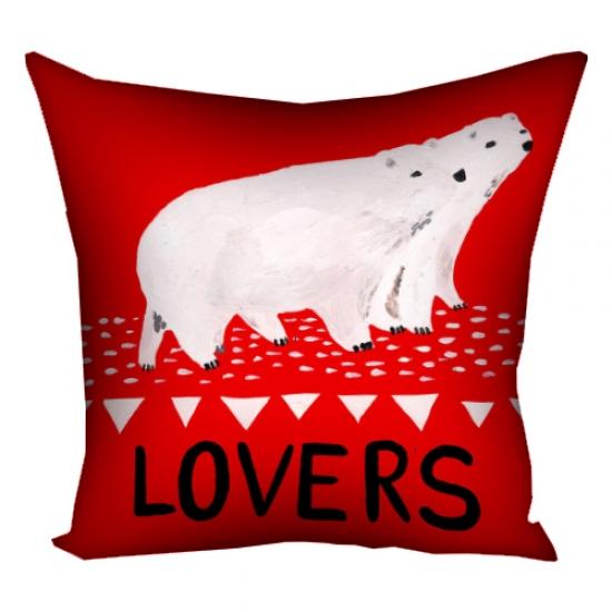 Фото - Подушка Lovers 30х30 см купить в киеве на подарок, цена, отзывы