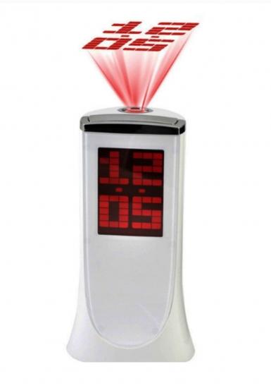Фото - Настольные электронные часы с проектором купить в киеве на подарок, цена, отзывы