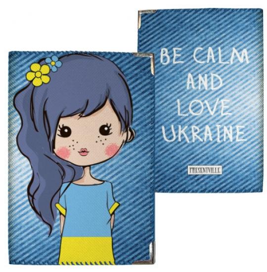 Фото - Обложка на паспорт Украинка купить в киеве на подарок, цена, отзывы