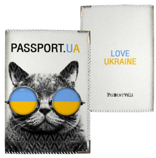 Фото - Обложка на паспорт Кот-украинец купить в киеве на подарок, цена, отзывы