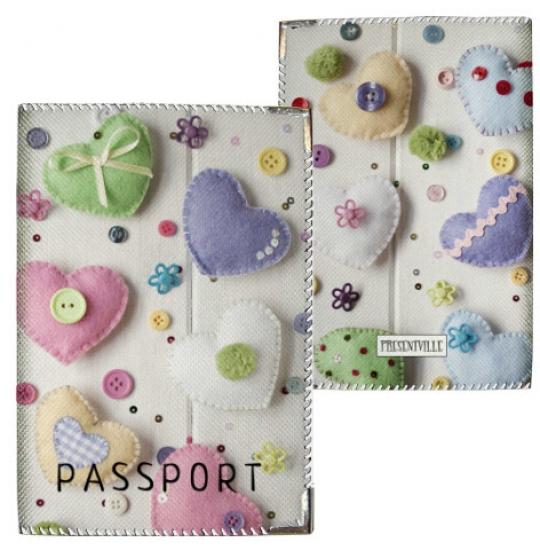 Фото - Обложка на паспорт Валентинки купить в киеве на подарок, цена, отзывы