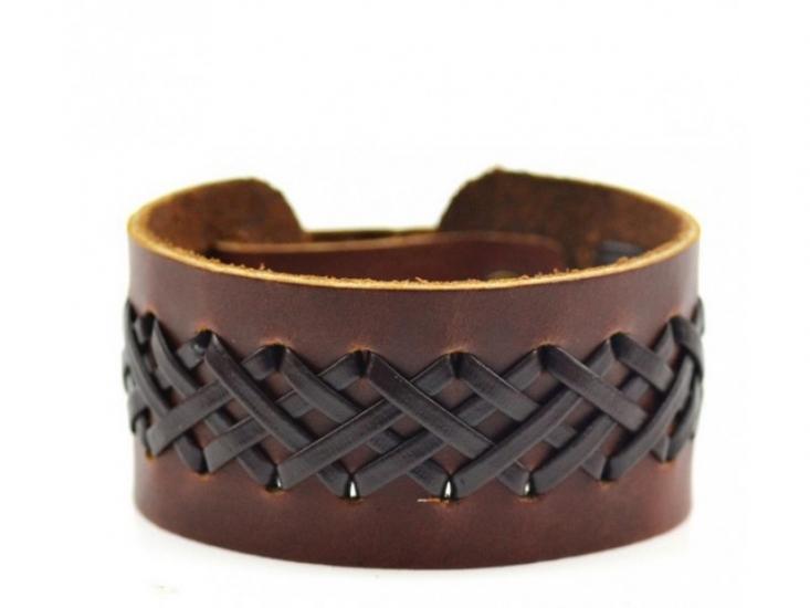 Фото - Кожаный браслет Ansel купить в киеве на подарок, цена, отзывы