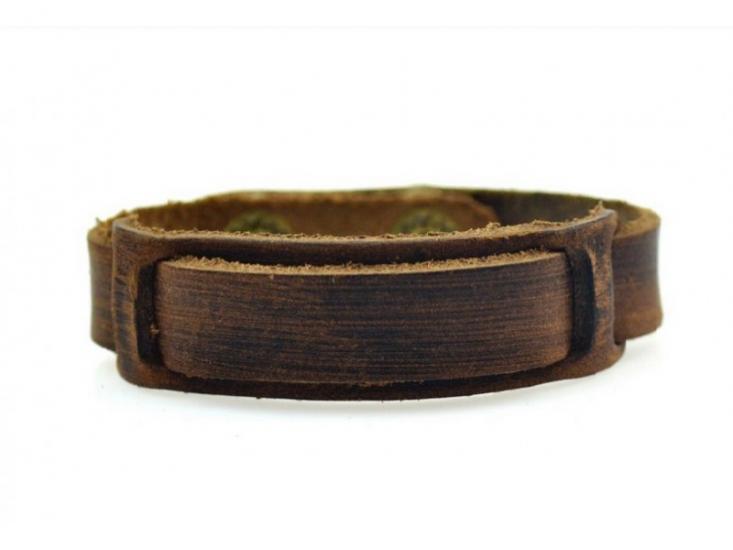Фото - Антический кожаный браслет Anthony купить в киеве на подарок, цена, отзывы