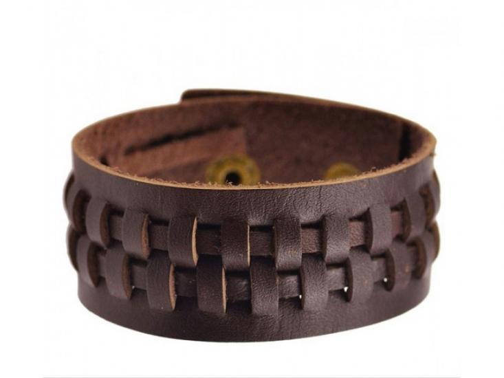 Фото - Антический кожаный браслет Archer купить в киеве на подарок, цена, отзывы