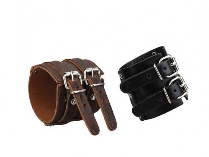 Фото - Антический кожаный браслет Aubrey купить в киеве на подарок, цена, отзывы