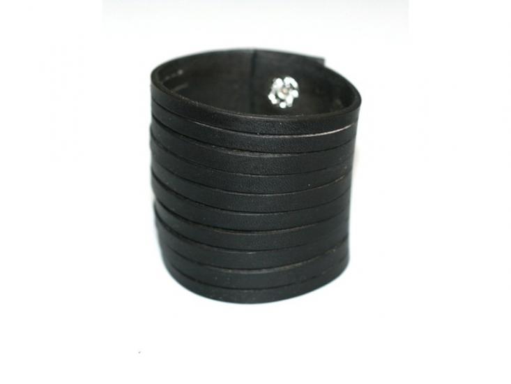Фото - Антический кожаный браслет Baron купить в киеве на подарок, цена, отзывы