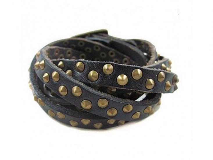 Фото - Антический кожаный браслет Benny купить в киеве на подарок, цена, отзывы