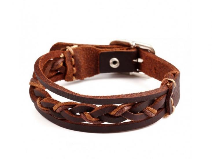 Фото - Антический кожаный браслет Tail купить в киеве на подарок, цена, отзывы