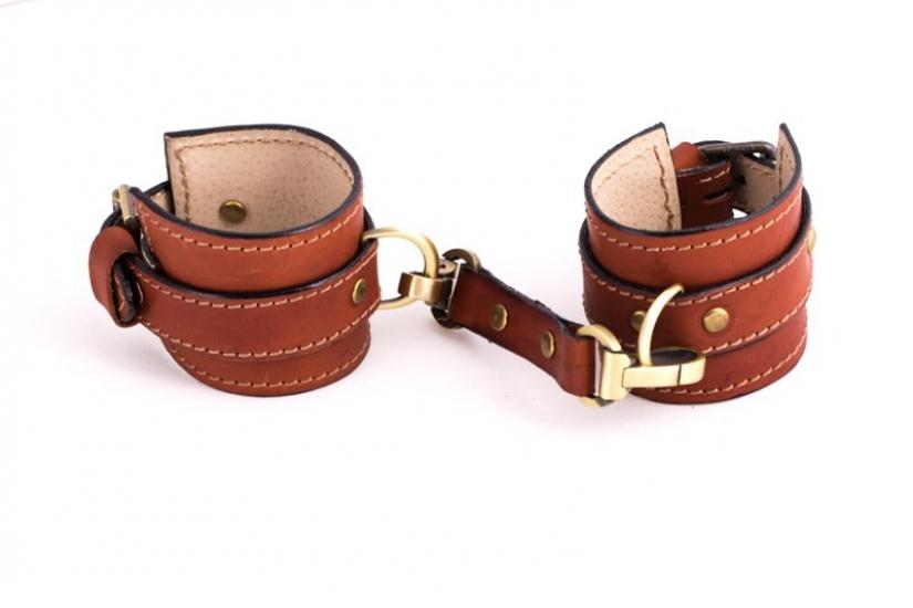 Фото - Кожаные браслеты для пар + ключница купить в киеве на подарок, цена, отзывы
