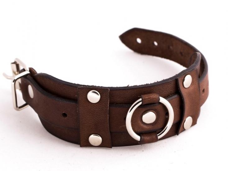 Фото - Кожаный браслет GO с пряжкой купить в киеве на подарок, цена, отзывы