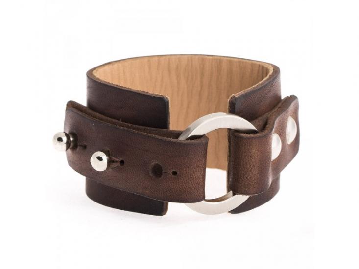 Фото - Кожаный браслет Сircle купить в киеве на подарок, цена, отзывы