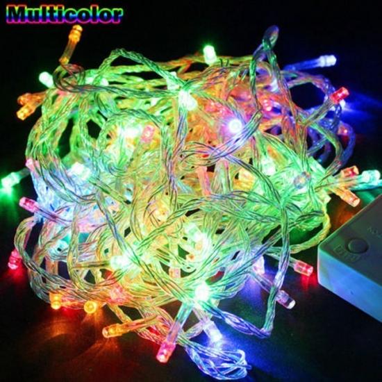 Фото - Гирлянда светодиодная LED 200 мультиколор купить в киеве на подарок, цена, отзывы