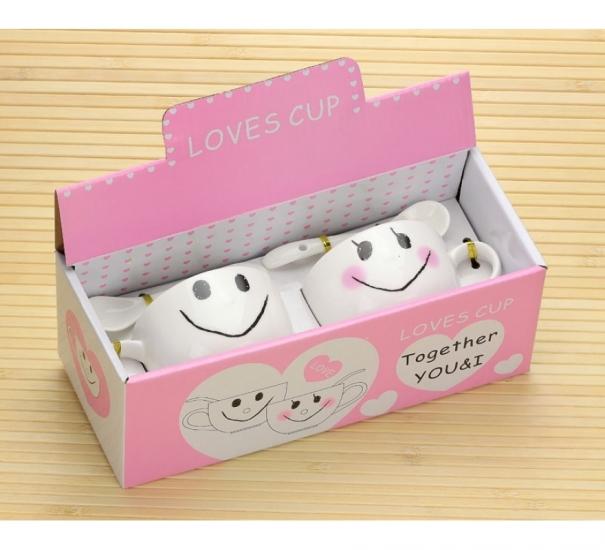 Фото - Набор чашек Smiles купить в киеве на подарок, цена, отзывы