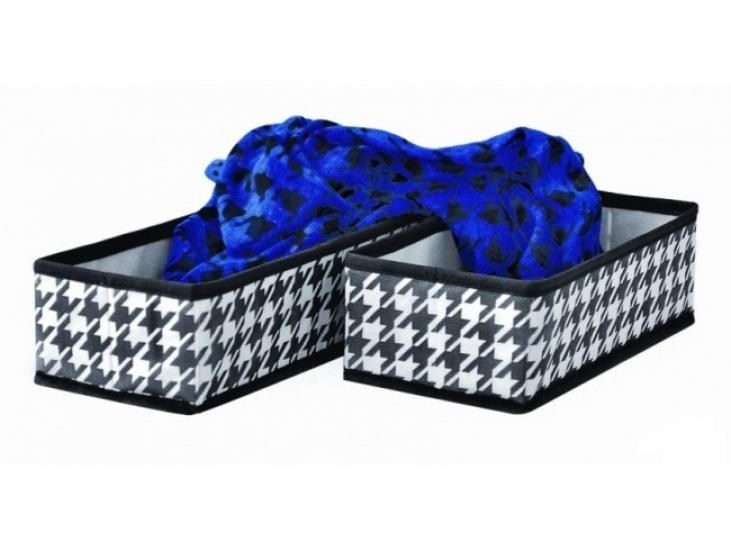 Фото - Набор из 2х черно-белых органайзеров купить в киеве на подарок, цена, отзывы