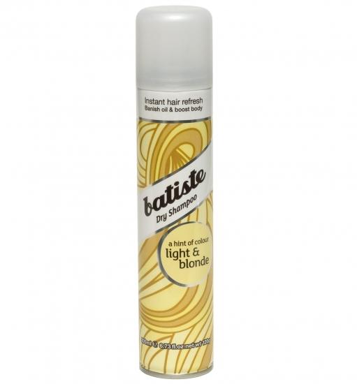 Фото - Сухой шампунь Batiste Light and Blonde 200 ml купить в киеве на подарок, цена, отзывы