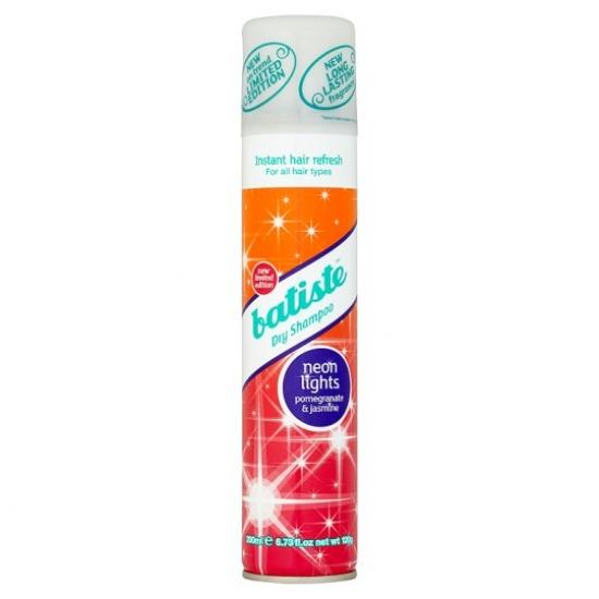 Фото - Сухой шампунь Batiste Neon Lights 200 ml купить в киеве на подарок, цена, отзывы
