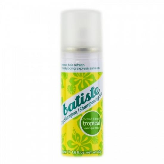 Фото - Сухой шампунь Batiste Tropical 50 ml купить в киеве на подарок, цена, отзывы