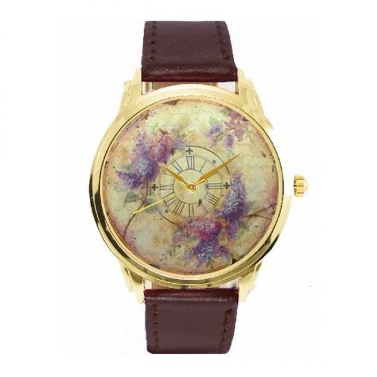 Фото - Часы Сирень купить в киеве на подарок, цена, отзывы