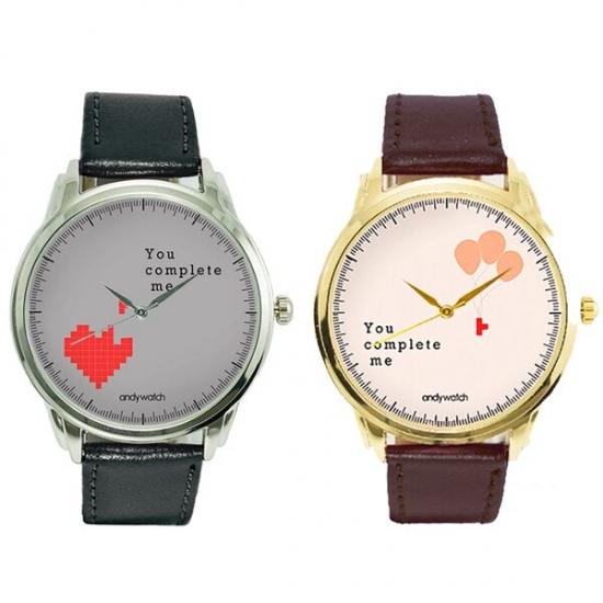 Фото - Парные часы You complete me купить в киеве на подарок, цена, отзывы