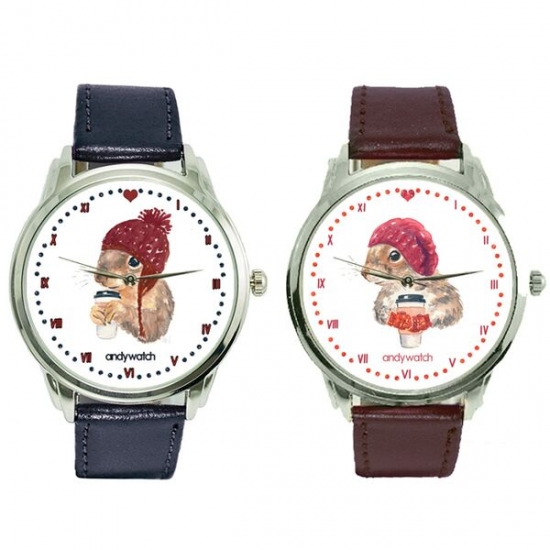 Фото - Парные часы Зимуем вместе купить в киеве на подарок, цена, отзывы