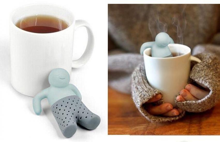 Фото - Заварник для чая Человечек купить в киеве на подарок, цена, отзывы