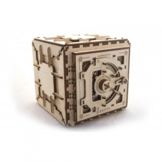 Фото - Механический 3D пазл Сейф купить в киеве на подарок, цена, отзывы