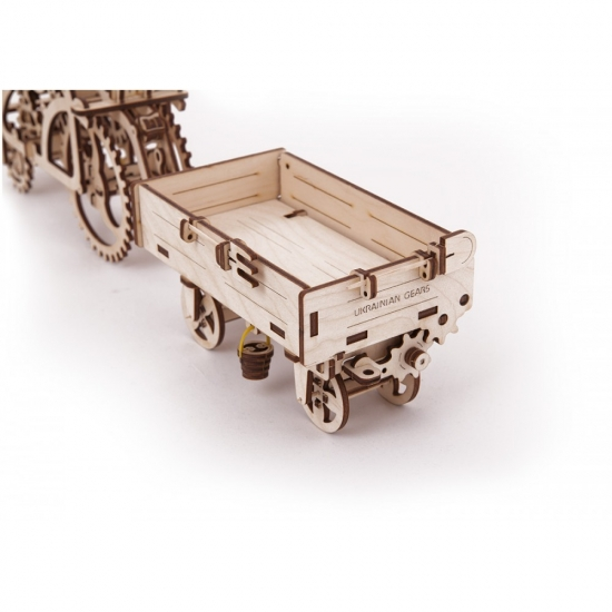 Фото - Механический 3D пазл Прицеп купить в киеве на подарок, цена, отзывы