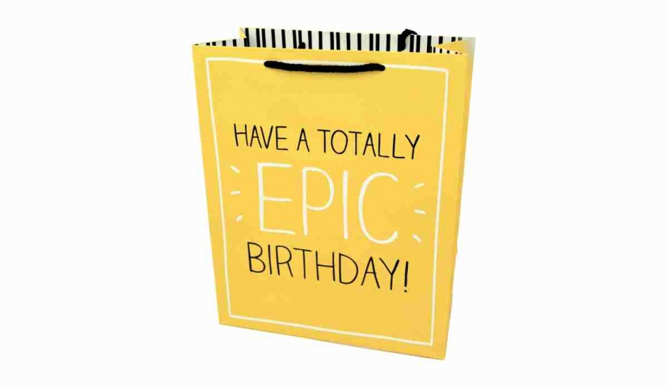Фото - Подарочный пакет Эпический День Рождения купить в киеве на подарок, цена, отзывы