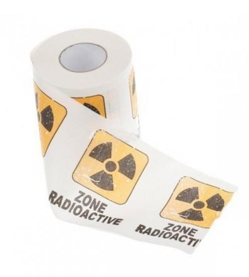 Фото - Туалетная бумага Радиация купить в киеве на подарок, цена, отзывы