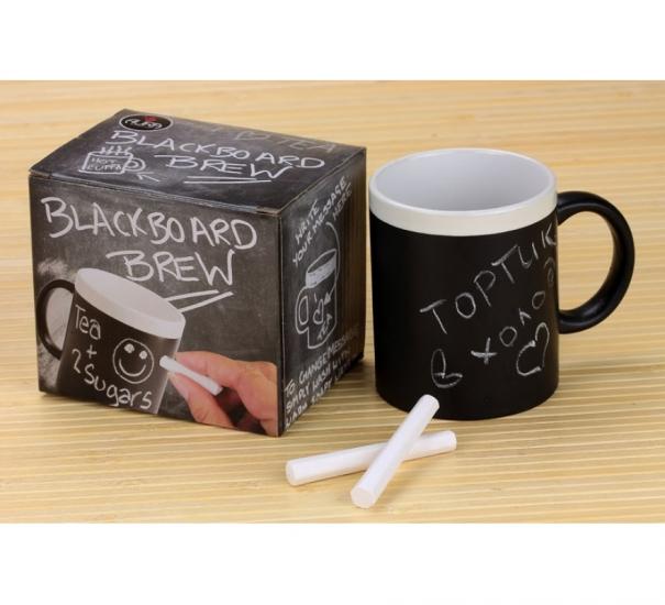 Фото - Чашка memoboard с 2 мелками купить в киеве на подарок, цена, отзывы