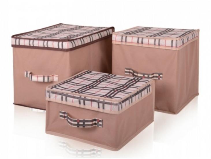 Фото - Короб для хранения вещей 30х40х30 купить в киеве на подарок, цена, отзывы