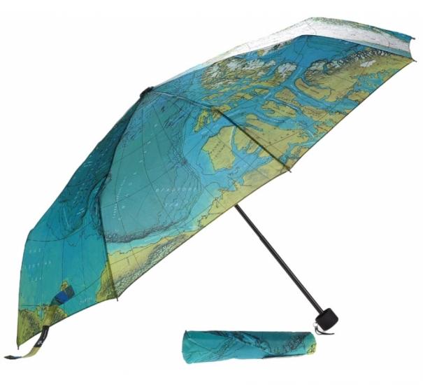 Фото - Зонт Карта мира купить в киеве на подарок, цена, отзывы