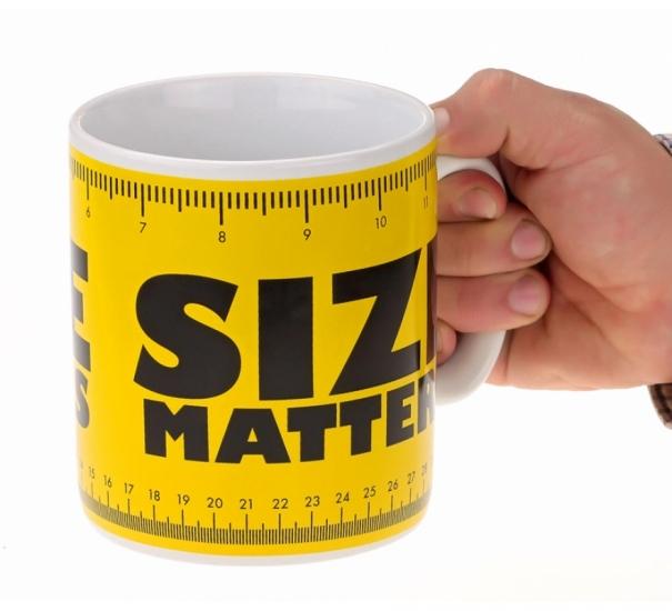 Фото - Чашка гигант Size matters купить в киеве на подарок, цена, отзывы