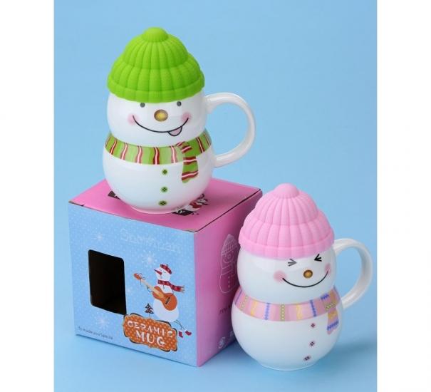 Фото - Чашка Снеговик  купить в киеве на подарок, цена, отзывы