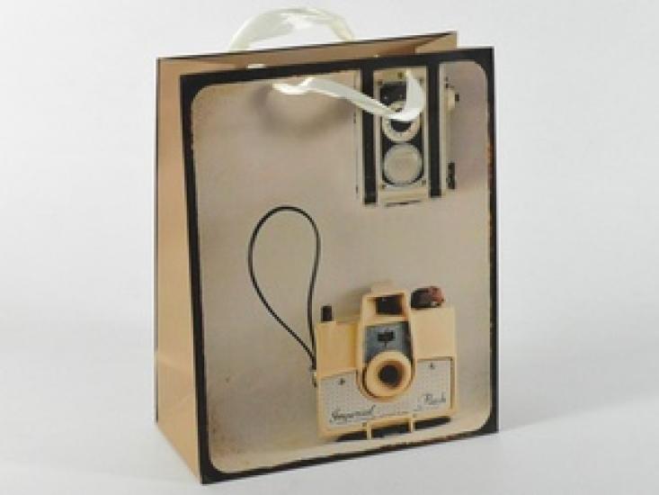 Фото - Подарочный пакет Винтаж купить в киеве на подарок, цена, отзывы