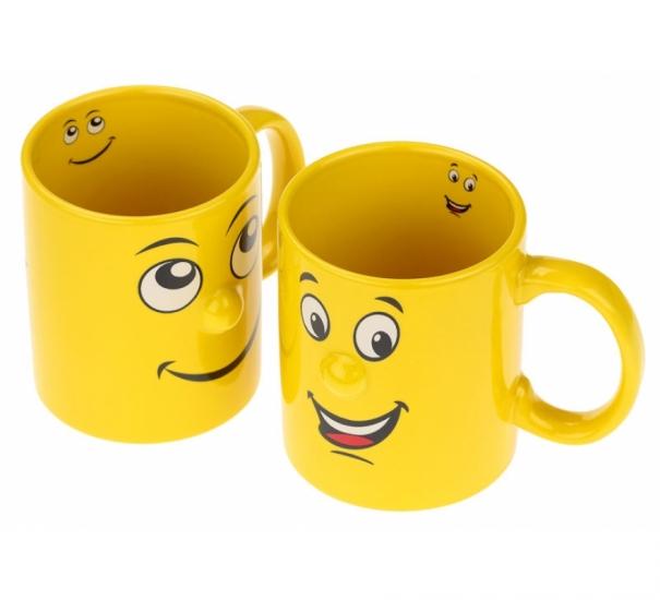 Фото - Чашка Мордочка с улыбкой 4 вида купить в киеве на подарок, цена, отзывы