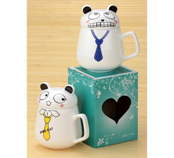 Фото - Чашка Кот с галстуком купить в киеве на подарок, цена, отзывы