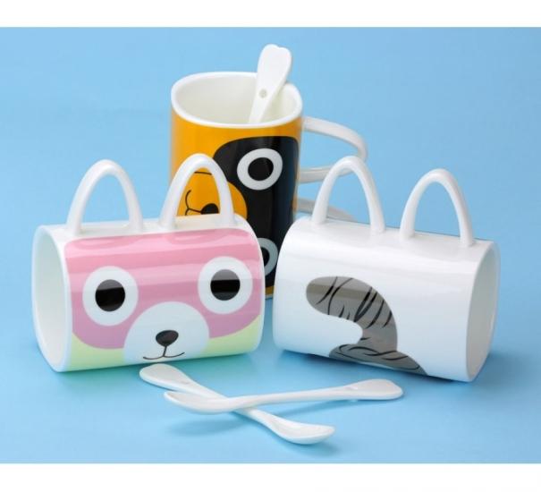 Фото - Чашка с ушками Котенок купить в киеве на подарок, цена, отзывы
