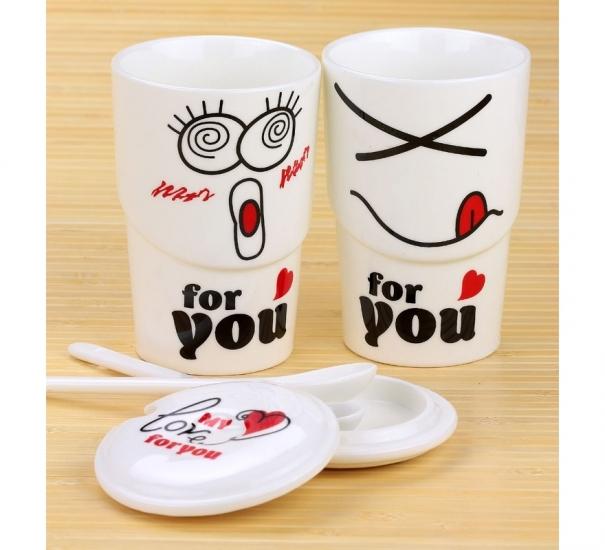 Фото - Чашка My love for you купить в киеве на подарок, цена, отзывы