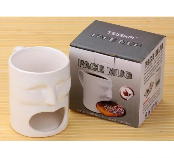 Фото - Голодная кружка Face Mug купить в киеве на подарок, цена, отзывы