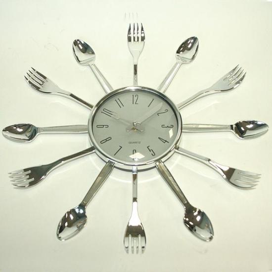 Фото - Настенные часы Вилки и Ложки  купить в киеве на подарок, цена, отзывы